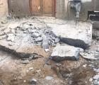 Demolição de concreto no Térreo