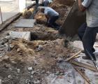 Confecção das caixas da calçada - Rua Ibiraçu (1)
