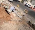 Confecção das caixas da calçada - Rua Ibiraçu (2)