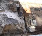 Tubulação de recalque - Rua Ibiraçu